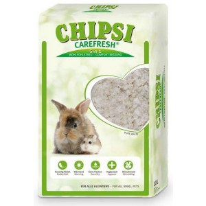 Chipsi CareFresh Pure White 10L - ściółka biała